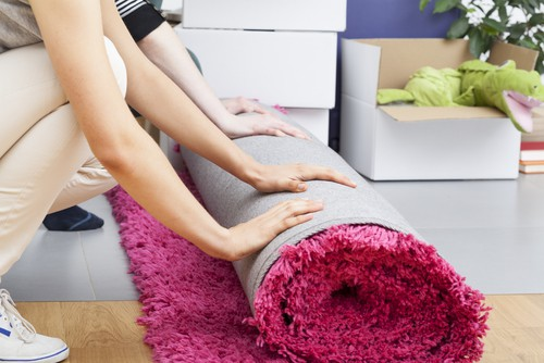 Disinfect carpet and rugs